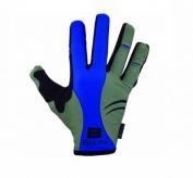 Rękawiczki rowerowe b-skin długie palce enola grey/blue xl