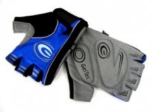 Rękawiczki rowerowe ergo gel M granat