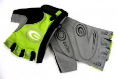 Rękawiczki rowerowe Ergo gel M zielone