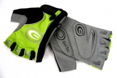 Rękawiczki rowerowe ergo gel S zielony