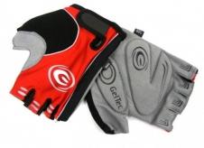 Rękawiczki rowerowe ergo gel XL czerwone