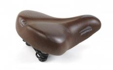 Siodełko rowerowe Monte Grappa america brązowe