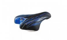 Siodełko rowerowe Monte Grappa ok... go!! czarno-niebieskie