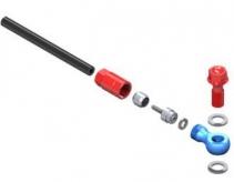 Zestaw końcówek do przewodów hydraul uni fast fix