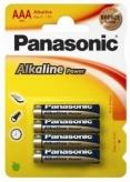 Baterie lr03 panasonic aaa alkaline 4 szt. blister
