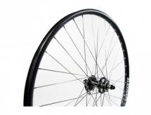 """Koło rowerowe przednie 27,5""""  stożek alex quanta tarcza qr czarne"""
