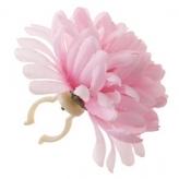 Kwiat na kierownicę chryzantem różowa Basil