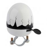 Dzwonek rowerowy jajko biały