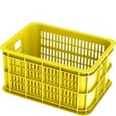 Kosz rowerowy Basil plastikowy żółty 25L