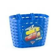 Koszyk dziecięcy rowerowy Widek Cars 3 niebieski