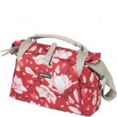 Torba rowerowa Basil City Bag 7L czerwona magnolie