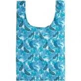 Torba na zakupy składana Urban Proof  niebieski liście