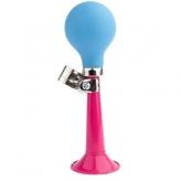 Trąbka rowerowa Pex różowa - niebieska