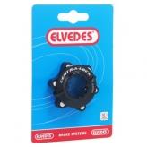 Pierścień blokujący tarczę hamulcową cnc elvedes czarny