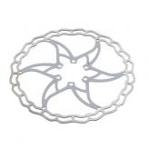 Tarcza hamulcowa elvedes one piece 180mm biała