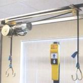 Electr hijsinstallatie veh150 + noodstop