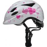 Kask rowerowy dziecięcy Abus Anuky S 46-52 white heart