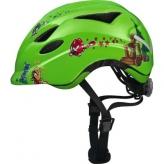Kask rowerowy dziecięcy Abus Anuky S 46-52 green catapult