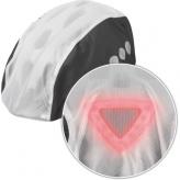 Abus regenpokrowiec kask transparant/czarny toplight