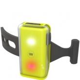 Lampka rowerowa WOWOW Cliplight żółta