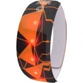 Opaska odblaskowa LED Wowow Lightband czarna/pomarańczowa