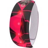 Opaska odblaskowa LED Wowow Lightband czarna/różowa
