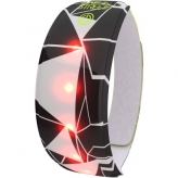 Opaska odblaskowa LED Wowow Lightband czarna/biała