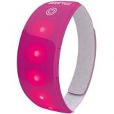 Opaska odblaskowa LED Wowow Lightband różowa