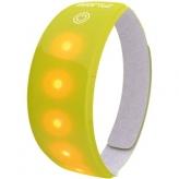 Opaska odblaskowa LED Wowow Lightband żółta