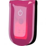 Klips z diodami LED WOWOW Magnetlight różowy