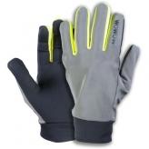 Rękawiczki rowerowe odblaskowe WOWOW Dark Gloves 2.0 XL