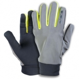 Rękawiczki rowerowe odblaskowe WOWOW Dark Gloves 2.0 L