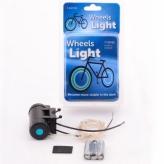 Oświetlenie LED na szprychy niebieskie