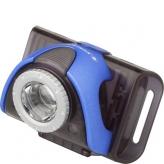 Lampka rowerowa przednia Ledlenser LLB5R czarna - niebieska