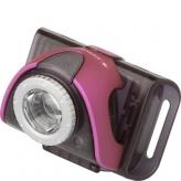Lampka rowerowa przednia Ledlenser LLB3 czarna - różowa