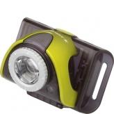 Lampka rowerowa przednia Ledlenser LLB3 czarna - limonkowa