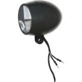 Lampka rowerowa przednia Cortina Amsterdam dynamo czarna
