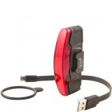 Lampka rowerowa tylna Spanninga ArContinental USB