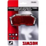 Lampka rowerowa tylna Simson Tunnel baterie