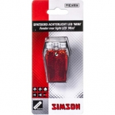 Lampka rowerowa tylna Simson Mini baterie