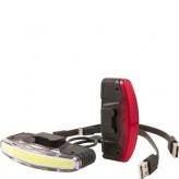 Zestaw lampek rowerowych Spanninga Arco