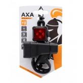 Zestaw lampek rowerowych AXA Niteline T4R USB