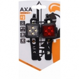Zestaw lampek rowerowych AXA Niteline 44R USB