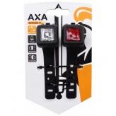 Zestaw lampek rowerowych AXA Niteline 11