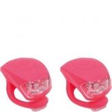 Zestaw lampek rowerowych Urban Proof czerwony