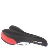 Siodełko rowerowe Velo 3011 czerwono/czarne