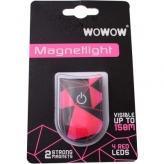 Klips odblaskowy WOWOW Magnetlight Urban różowy