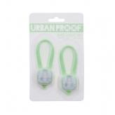 Zestaw lampek rowerowych Urban Proof SMD LED zielony