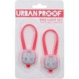 Zestaw lampek rowerowych Urban Proof SMD LED czerwone