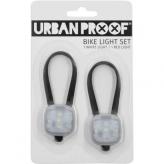Zestaw lampek rowerowych Urban Proof SMD LED czarne